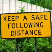 Defensive Driving Safe Following Distance