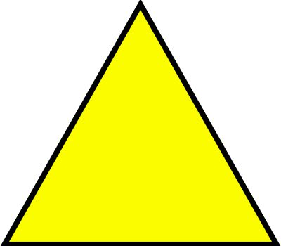 Equalateral Triangle Sign