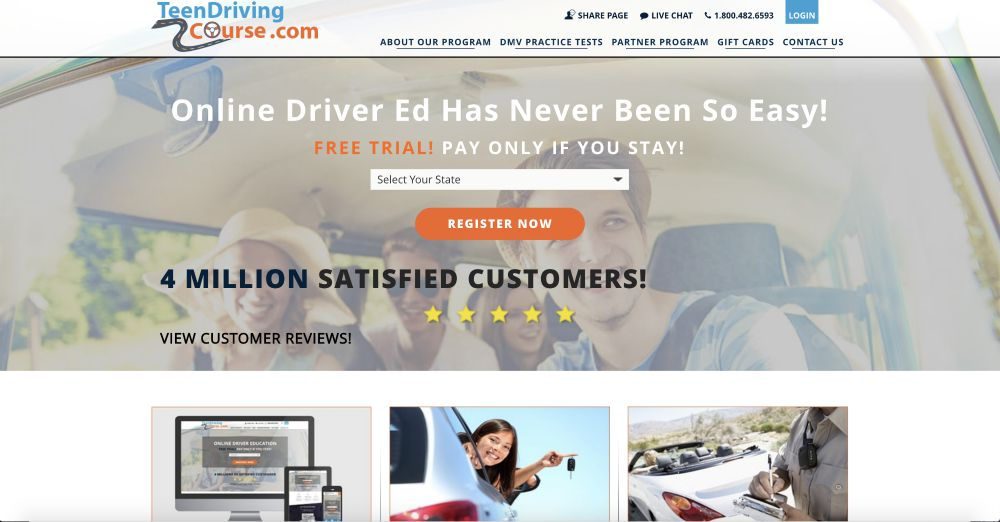 Teen Driving Course Online Drivers Ed