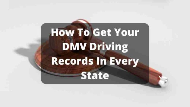 DMV Driving Records For Each State