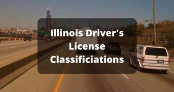 Illinois Drivers License Classifications