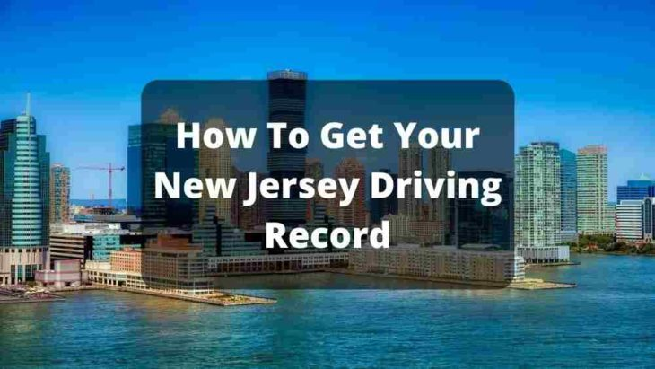 New Jersey Driving Record